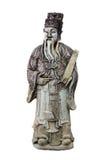 Старая статуя мудрого человека Стоковое фото RF