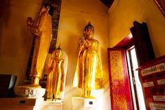Старая статуя Wat Phra Mahathat Woramahawihan Будды в Nakhon Si t Стоковое Фото