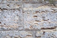Старая стена блоков стоковое изображение