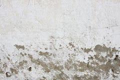 Старая стена гипсолита с треснутым гипсолитом Стоковая Фотография