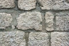 Старая стена каменной кладки Стоковые Фото