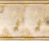 Старая стена картины с викторианец рамки Стоковое Фото
