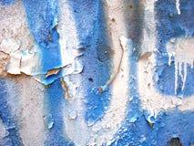 старая стена краски стоковая фотография rf