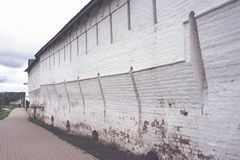 Старая стена монастыря Стоковое Фото