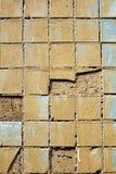 старая стена плитки текстуры Стоковые Фото