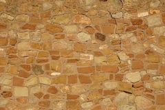 старая стена утеса Стоковое Изображение RF