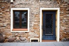 Старая стена улицы Стоковая Фотография RF