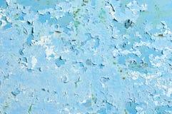 Старая стена шелушения любит океан и лед Стоковые Фото