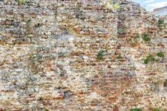 старая стена шелушения Стоковая Фотография