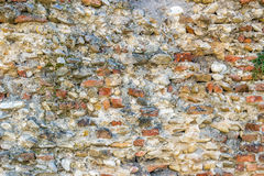 старая стена шелушения Стоковые Фотографии RF
