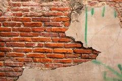 старая стена Стоковое Изображение