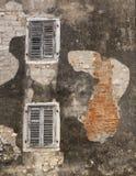 старая стена Стоковые Изображения