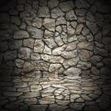 Старая стена grunge грубых камней как предпосылка Стоковые Фотографии RF