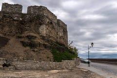 старая стена Kamenec Podolsky Стоковые Фотографии RF