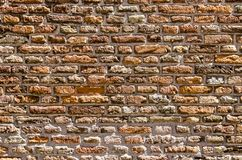 Старая стена masonry стоковая фотография