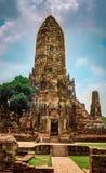 Старая столица ayuttaya Таиланда Стоковая Фотография