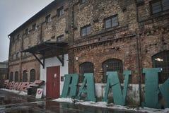Старая строя Варшава Стоковое Изображение