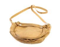 Старая сумка армии. Стоковое Изображение RF
