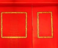 Старая сцена двери Стоковое Изображение