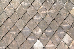 Старая тайская крыша Стоковое Фото