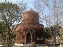 Старая тайская пагода стиля Стоковое фото RF
