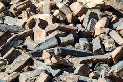 Старая текстура камней Стоковая Фотография