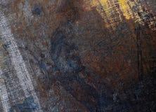 Старая текстура конца-вверх металла Стоковые Изображения RF