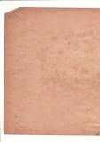 Старая текстура коричневой бумаги Стоковое Фото