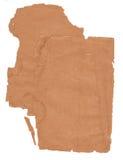 Старая текстура коричневой бумаги Стоковые Фото