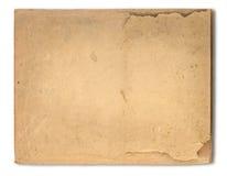 Старая текстура коричневой бумаги Стоковые Изображения RF