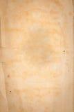 Старая текстура коричневой бумаги Стоковые Фотографии RF