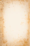 Старая текстура коричневой бумаги Стоковая Фотография RF