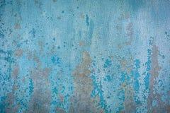 Старая текстура краски на металле Стоковое Фото