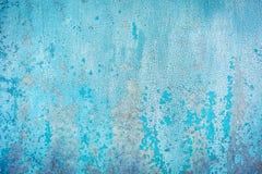 Старая текстура краски на металле Стоковая Фотография