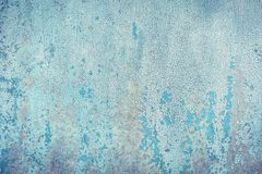 Старая текстура краски на металле Стоковая Фотография RF