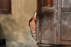 Старая текстура дома Стоковые Фото