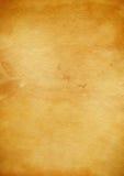 Старая текстура пергаментной бумаги Стоковые Фотографии RF