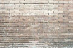 Старая текстура предпосылки стены красного кирпича покрашенная стоковая фотография