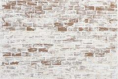 Старая текстура предпосылки стены красного кирпича покрашенная Стоковое Фото