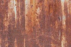 Старая текстура ржавчины утюга металла Стоковая Фотография RF