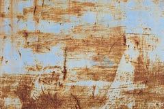 Старая текстура ржавчины утюга металла Стоковая Фотография