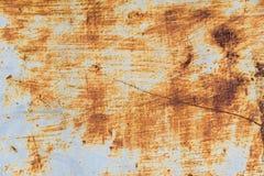 Старая текстура ржавчины утюга металла Стоковое Фото