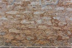 Старая текстура стены утеса самана Стоковые Изображения RF