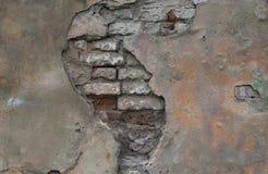 Старая текстура стены Стоковая Фотография