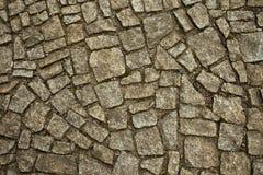 Старая текстура тротуара Стоковые Фото