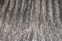 Старая текстура шифера для серой крыши Стоковое Изображение