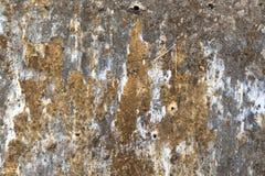Старая текстурированная покинутая запятнанная стена Стоковое фото RF