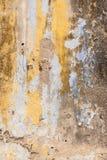 Старая текстурированная покинутая стена Стоковое фото RF