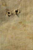 Старая текстурированная предпосылка холстины Стоковое Фото