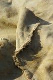 Старая текстурированная предпосылка холстины Стоковая Фотография RF
